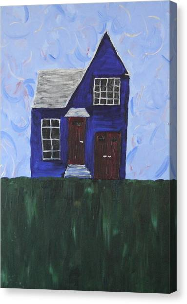 My House Canvas Print by Tracy Fetter