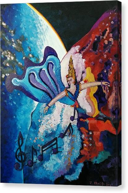 My Inspirational Goddess Canvas Print