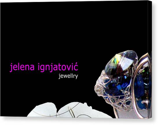 My Jewelry   Canvas Print by Jelena Ignjatovic