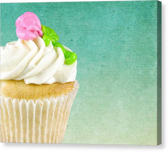 My Little Cupcake Canvas Print