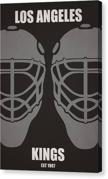 Los Angeles Kings Canvas Print - My Los Angeles Kings by Joe Hamilton