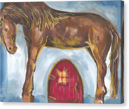 My Mane House Canvas Print