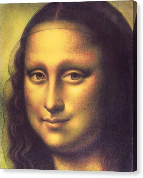 My Mona Lisa Canvas Print