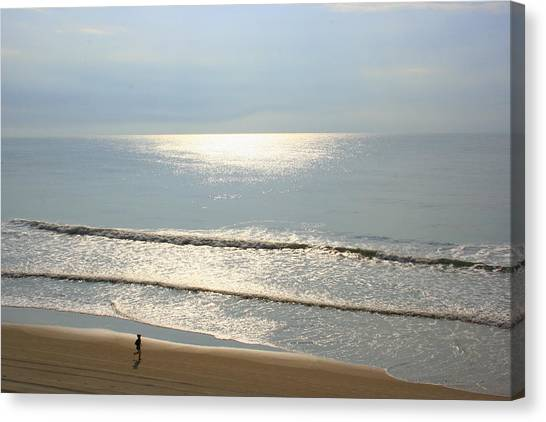 My Morning Run Canvas Print