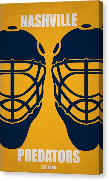 Nashville Predators Canvas Print - My Nashville Predators by Joe Hamilton