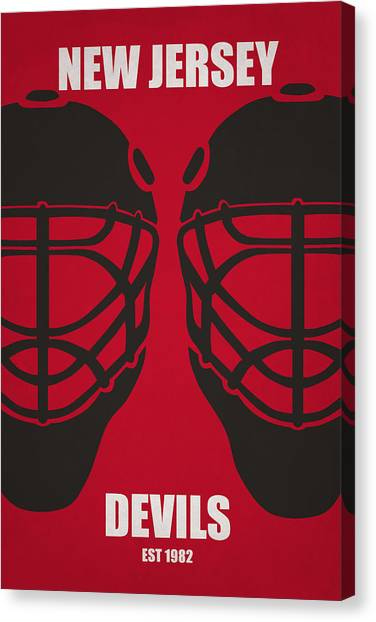 New Jersey Devils Canvas Print - My New Jersey Devils by Joe Hamilton