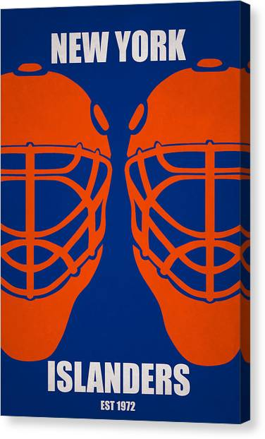 New York Islanders Canvas Print - My New York Islanders by Joe Hamilton