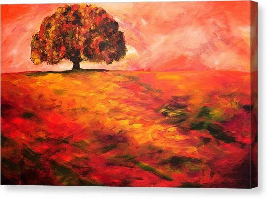 My Oak Tree Canvas Print