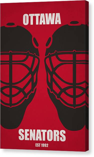 Ottawa Senators Canvas Print - My Ottawa Senators by Joe Hamilton