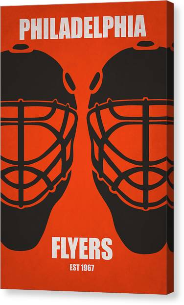 Philadelphia Flyers Canvas Print - My Philadelphia Flyers by Joe Hamilton