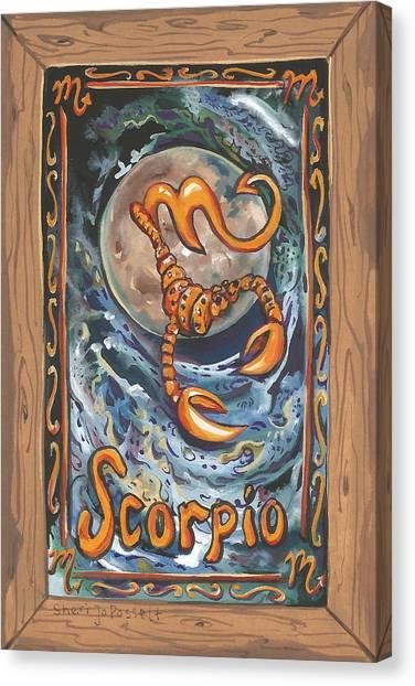 My Scorpio Canvas Print