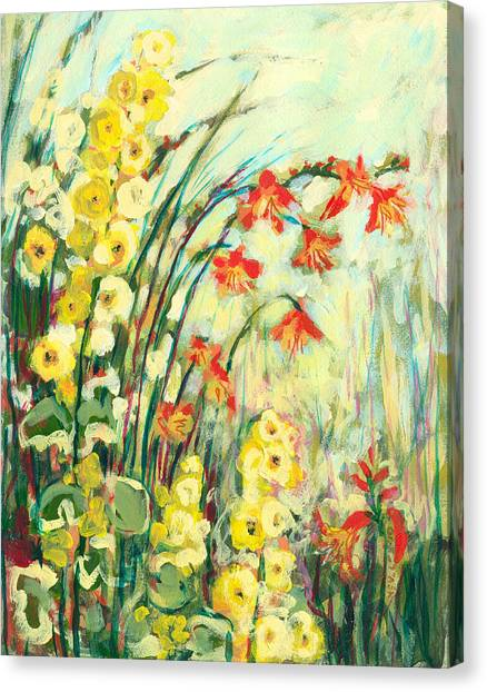Impressionism Canvas Print - My Secret Garden by Jennifer Lommers
