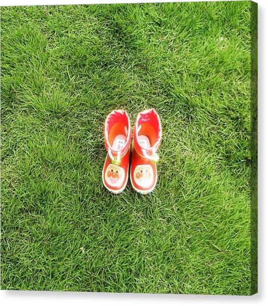 Fairies Canvas Print - My Shoes by Kanna Fairy