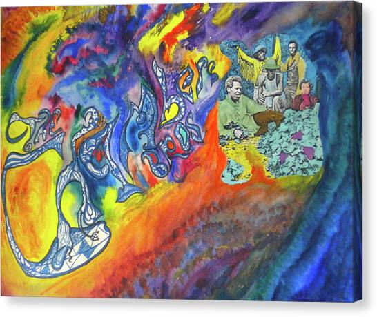 My Soul's Been Psychedelized Canvas Print