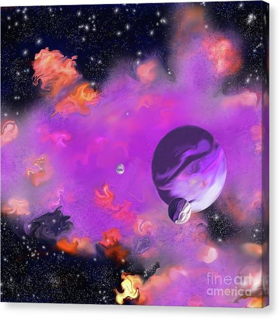 My Space Canvas Print