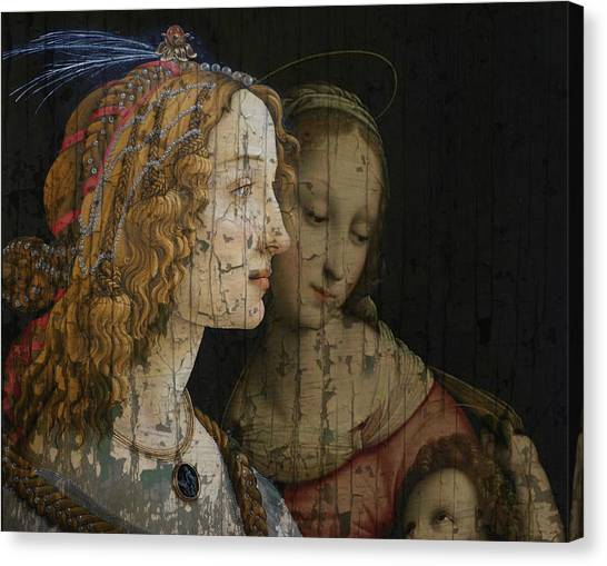 Old Masters Canvas Print - My Special Child by Paul Lovering