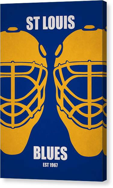St. Louis Blues Canvas Print - My St Louis Blues by Joe Hamilton