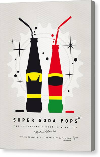 Flash Canvas Print - My Super Soda Pops No-01 by Chungkong Art