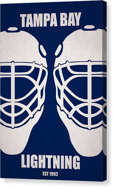 Tampa Bay Lightning Canvas Print - My Tampa Bay Lightning by Joe Hamilton