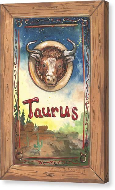 My Taurus Canvas Print