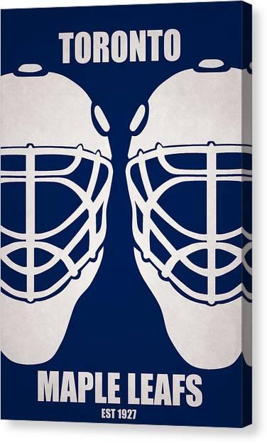 Toronto Maple Leafs Canvas Print - My Toronto Maple Leafs by Joe Hamilton
