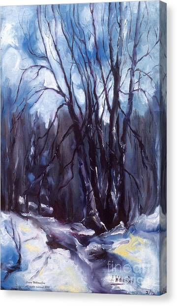 My Uncle Jack's Old Oak Tree Canvas Print