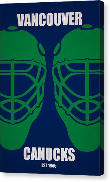 Vancouver Canucks Canvas Print - My Vancouver Canucks by Joe Hamilton