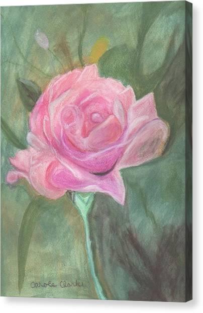 My Wild Irish Rose Canvas Print by Carole Clark
