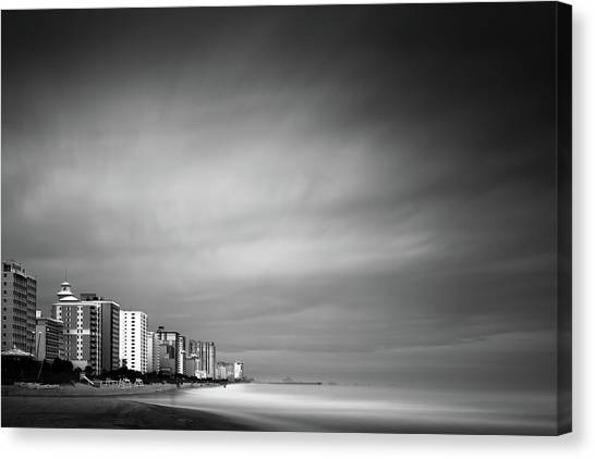 South Carolina Canvas Print - Myrtle Beach Ocean Boulevard by Ivo Kerssemakers