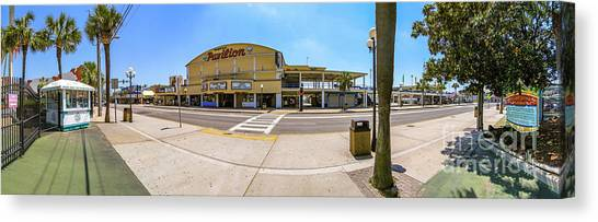 Myrtle Beach Pavilion Building Canvas Print