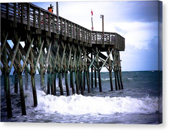 Myrtle Beach Pier Canvas Print