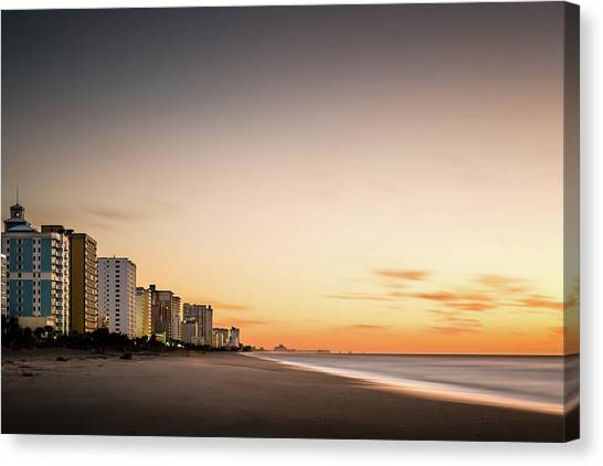 South Carolina Canvas Print - Myrtle Beach Sunrise by Ivo Kerssemakers