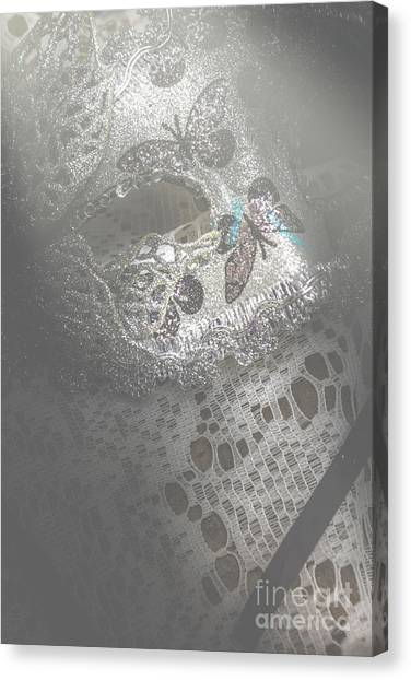 Masquerade Canvas Print - Mysterious Pantomime Play  by Jorgo Photography - Wall Art Gallery