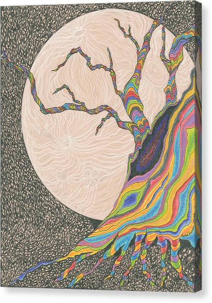 Mysterious Universe Canvas Print by Rachel Zuniga