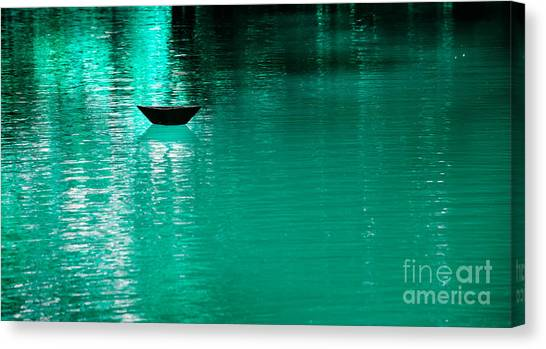 Mystery Boat Canvas Print