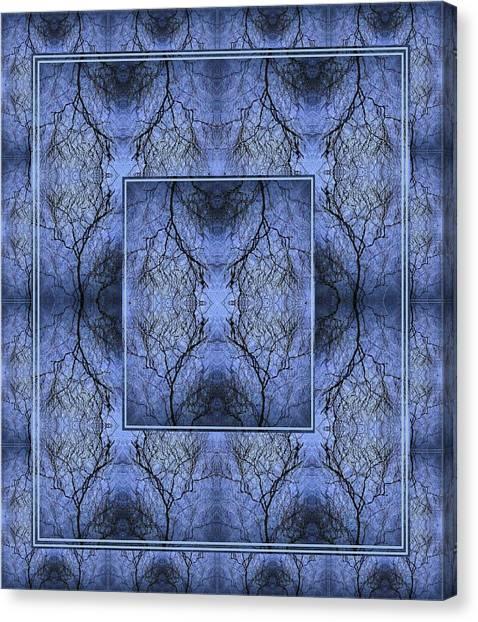Mystery Blue Canvas Print