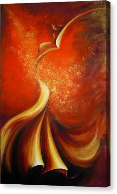 Mystery Dance Canvas Print by Dina Dargo