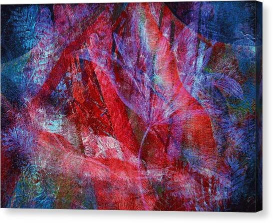 Mystery Flower Canvas Print by Sue Reed