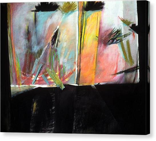 Mystery Landscape Canvas Print by Sue Reed