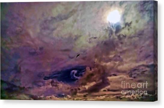 Mystery Sky Canvas Print