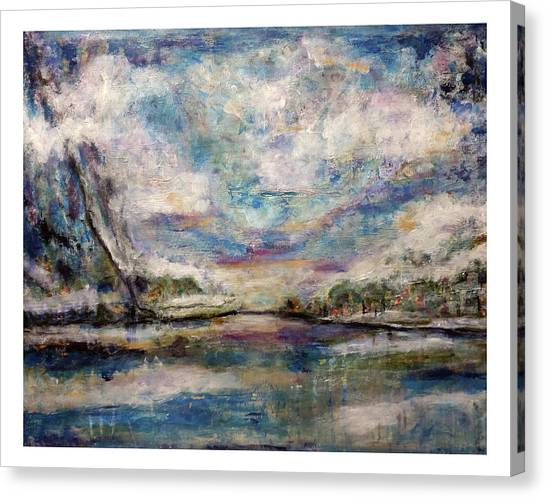 Mystic Cove Canvas Print