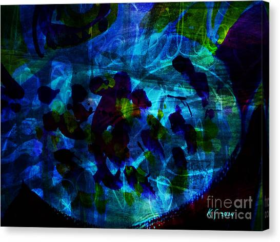 Mystic Creatures Of The Sea Canvas Print
