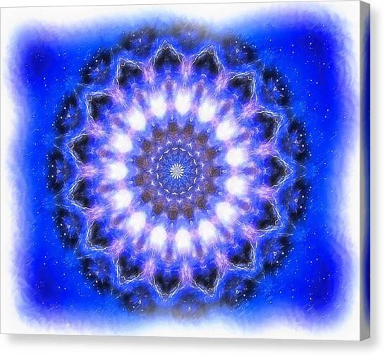 Mystic Mandala Canvas Print