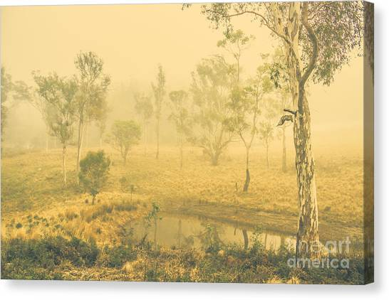 Mirages Canvas Print - Mystical Lake by Jorgo Photography - Wall Art Gallery