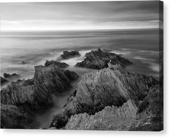 Mystical Moment Bw Canvas Print