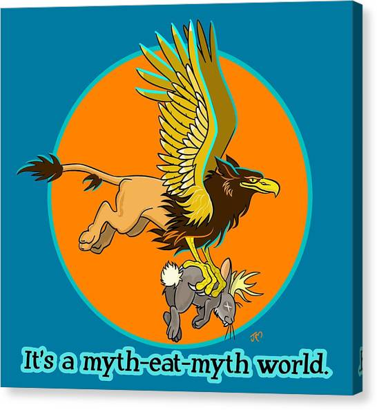 Mythhunter Canvas Print
