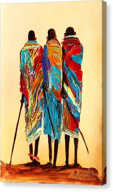N 106 Canvas Print