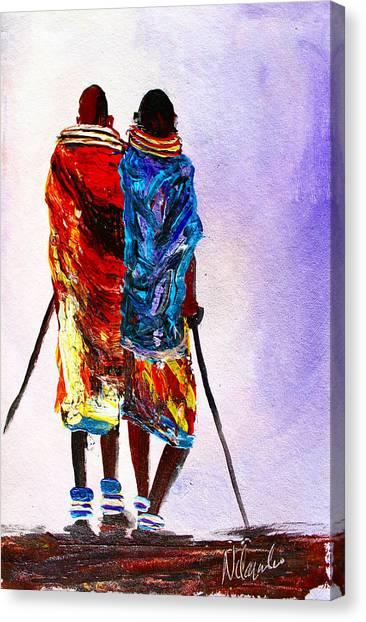 N 108 Canvas Print