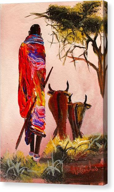 N 112 Canvas Print