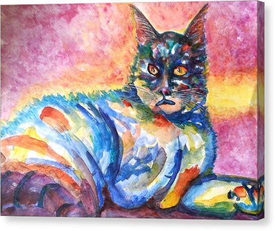 Na Nadia Canvas Print